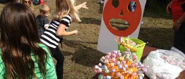 Atlanta Pediatric Dentist - pumpkin throw