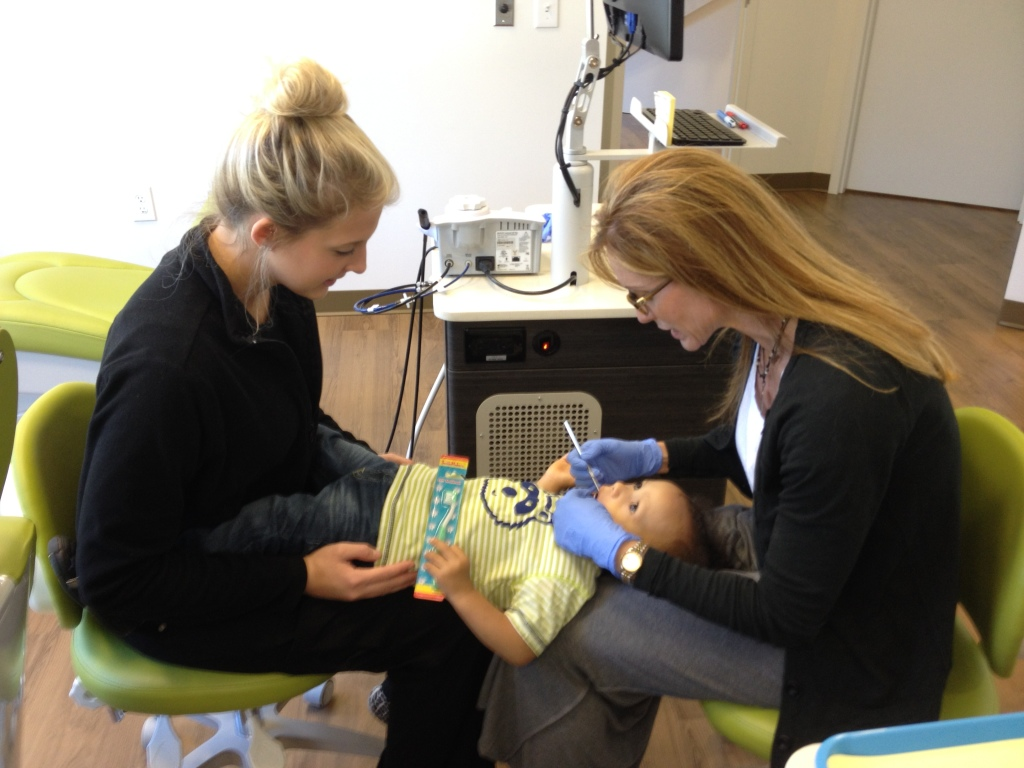 first visit to Brookhaven Children's Dentistry